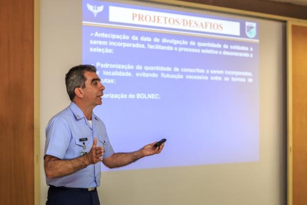 Coronel Almir, Chefe da Subdiretoria Interina do Serviço Militar (SDSM)