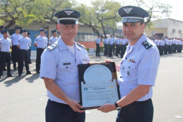 Entrega do Prêmio ASOCEA de Segurança Operacional ao DTCEA-MT