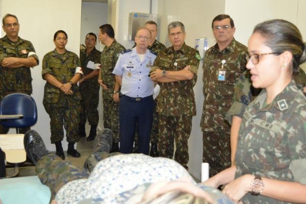 Militares realizaram curso com simulação de situação real de emergência