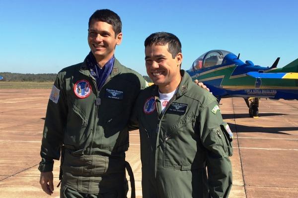 O Major Marcelo vai revezar a posição com o Tenente-Coronel Caldas