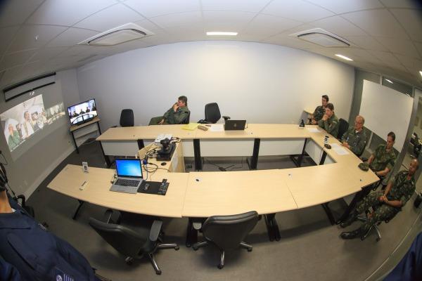 Videoconferência histórica foi realizada entre COMAE e Vilhena (RO)