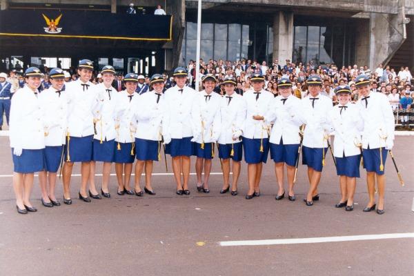 Primeiras formandas intendentes da FAB/Acervo pessoal