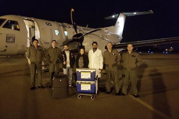 Foram transportados três fígados entre municípios do interior paulista