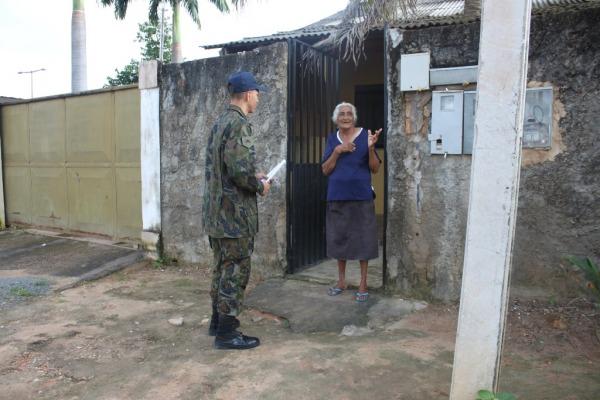 Cerca de 900 residências receberam visita do multirão