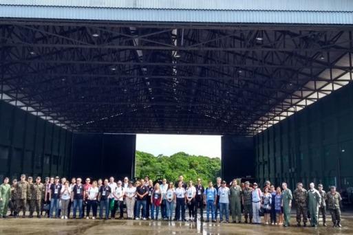 Comitiva visitou o Destacamento de São Gabriel da Cachoeira/ Ten Karlla Marinho