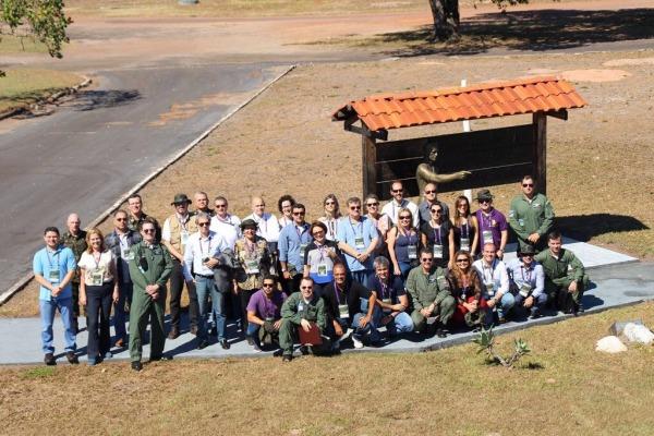 Antes de chegar a Manaus, a comitiva passou pelo CPBV/Sgt Nery