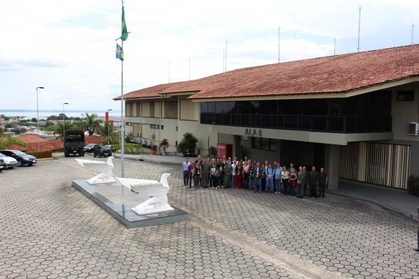 Visita começou pela Ala 8, em Manaus/Sgt Carleilson