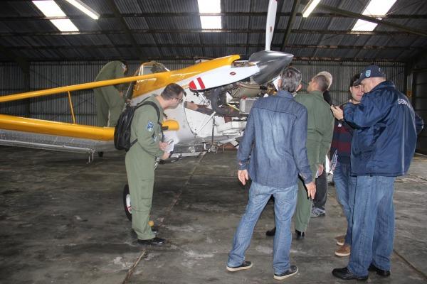 O curso debateu diversos temas, como planejamento operacional, manutenção de aeronaves e performance de voo