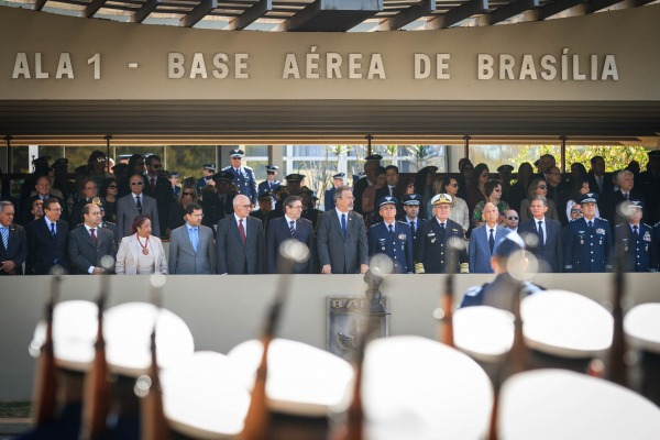 Solenidade foi realizada na Ala 1, em Brasília