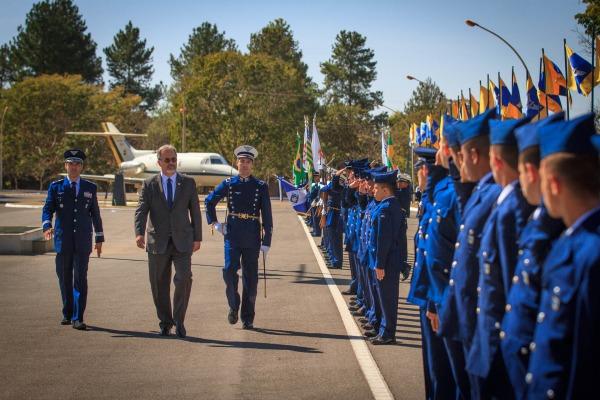 Ministro da Defesa, Raul Jungmann presidiu a solenidade militar