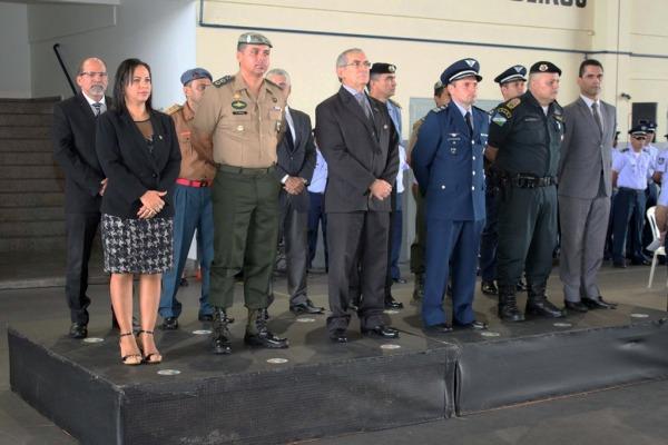 Presentes na cerimônia da Ala 7, em Boa Vista (RR)