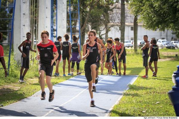 Seleção de atletas do Projeto Futuro Olímpico