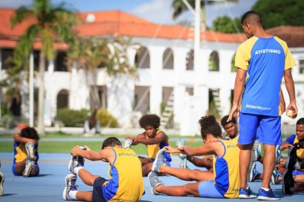 A Unidade realiza diversos projetos sociais e é local de treinamento para atletas olímpicos