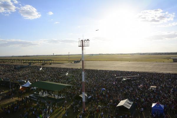 Evento reuniu cerca de 45 mil pessoas na Ala 5