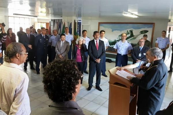 A FAB foi homenageada pelos serviços prestados no socorro às vítimas das enchentes em Palmares