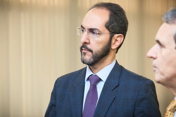 Subprocurador-Geral da União, José Roberto Peixoto, no evento