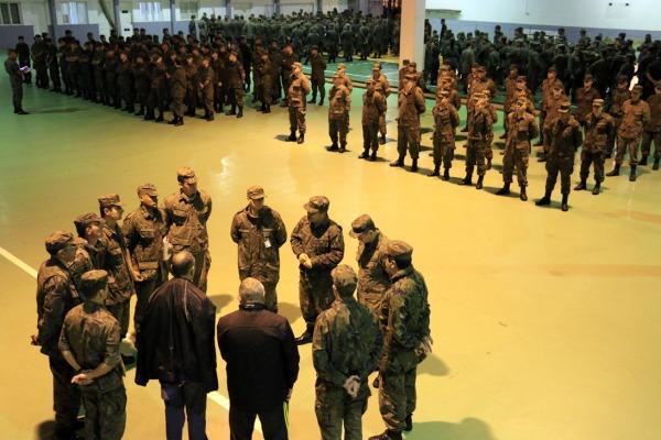Após teste do sistema de acionamento, efetivo recebeu instruções de segurança e defesa pessoal