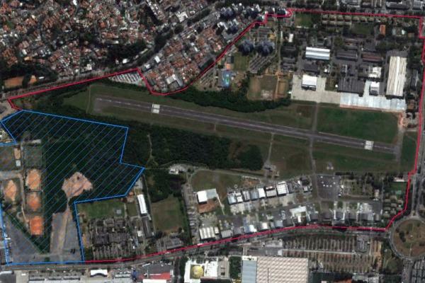 Cessão da área prevê a construção de um parque público e de um museu aeroespacial