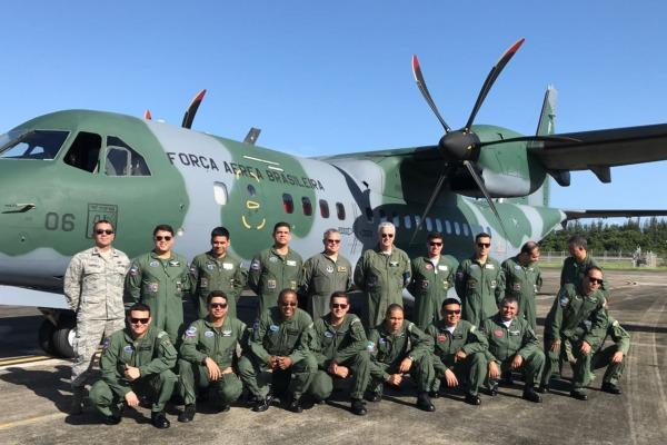 A FAB conta com a participação de 17 militares