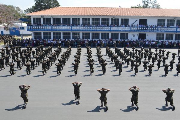 O Esquadrão Verde é composto po 150 alunos