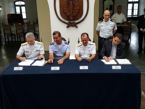 A parceria será executada por meio de Cursos de Aperfeiçoamento Avançado para Oficiais, entre outras atividades