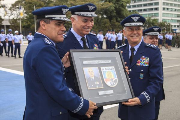 Cidade passa a abrigar um dos sete grandes comandos da Força Aérea
