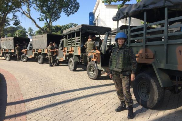 Capitão Luanda vai atuar na região oeste do país, denominada Darfur, que enfrenta graves problemas políticos