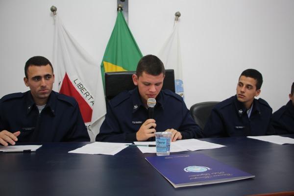 Sessão simbólica na Câmara Municipal de Barbacena