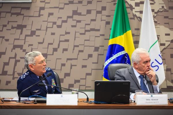 Tenente-Brigadeiro Rossato apresentou diagnóstico da área espacial e proposta de desenvolvimento do setor