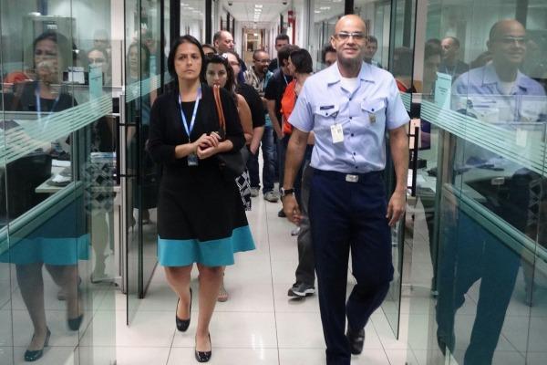 Equipe aprofundou conhecimento das normas inerentes ao Serviço de Gerenciamento de Fluxo de Tráfego Aéreo