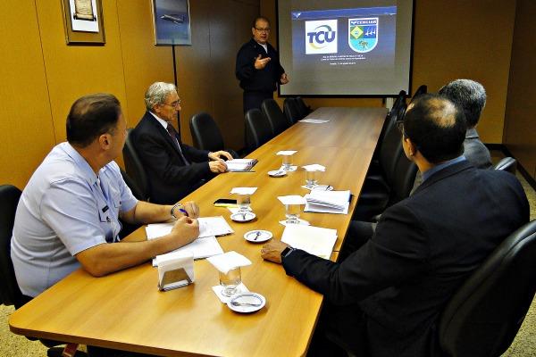 Reunião de apresentação do CENCIAR ao TCU