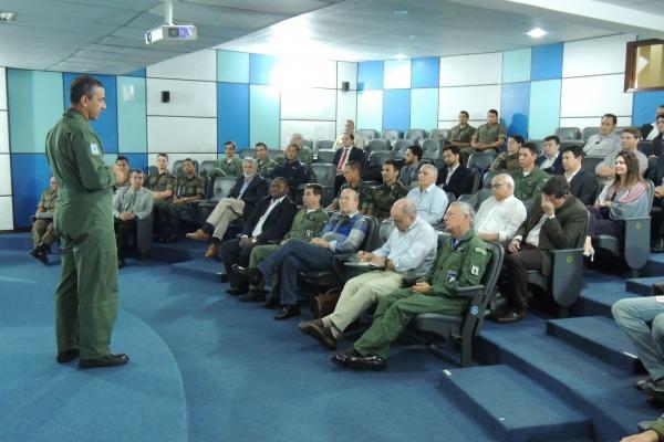 Comitiva conheceu o projeto de consolidação do Centro Espacial de Alcântara