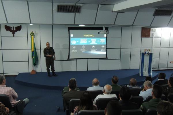 Chefe do CLA, Coronel Engenheiro Luciano, falou sobre o potencial da unidade