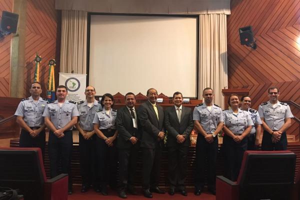 Na abertura do encontro foi oficializada a criação do Centro Regional de Assistência e Proteção de Armas Químicas