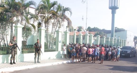 Durante a operação foram envolvidos 307 militares, em 55 locais de votação