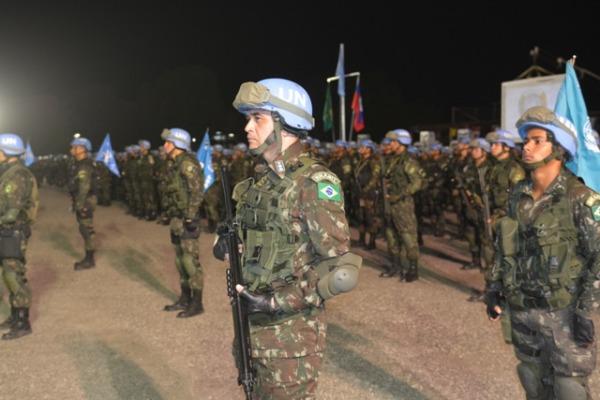 Formatura em Porto Príncipe marcou o término das atividades/ Exército Brasileiro