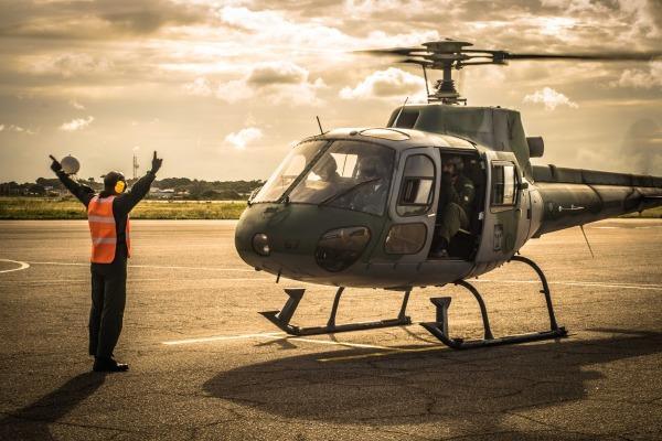 Esquadrão contribui para a formação de pilotos e mecânicos da Aviação de Asas Rotativas