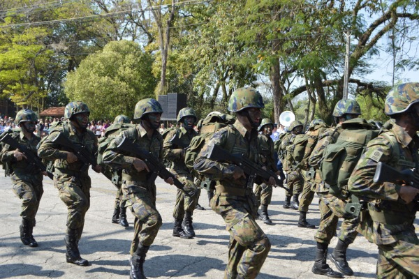 Em todas as regiões do País os militares da FAB celebraram o Dia da Independência