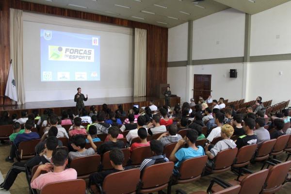 Abertura das atividades do PROFESP na Ala 4