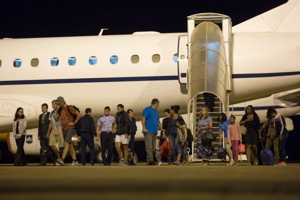 Avião da FAB resgatou 14 pessoas
