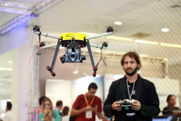 Número de drones aumentou nos últimos anos/Foto: Luiz Eduardo Perez