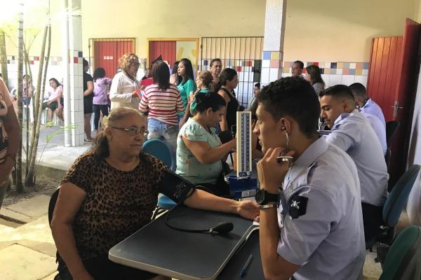 Foi oferecido acesso a diversos serviços e atendimentos na área de saúde