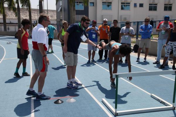 O Estágio reúne mais de 100 treinadores de todo o Brasil
