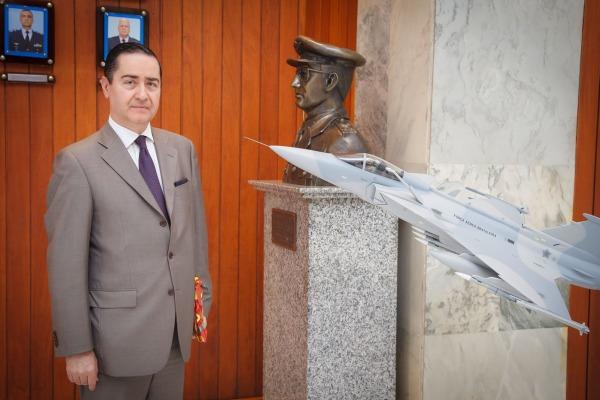 Presidente do TRF4 visita o Comandante da Aeronáutica