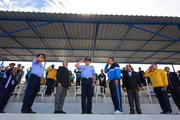 Oficiais-Generais durante cerimônia de abertura da 49ª Edição da NAE