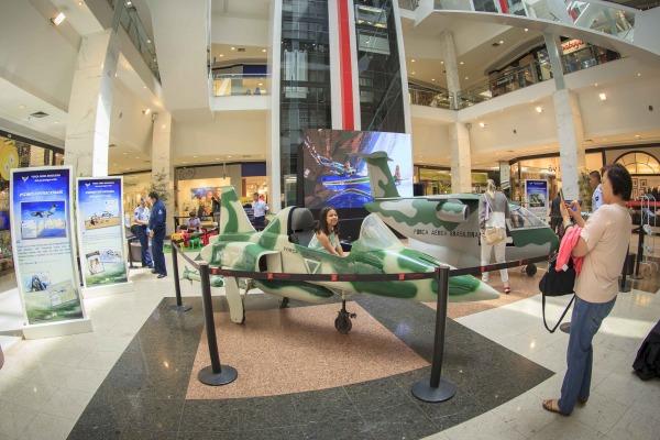 Aeronaves em miniatura foram principal atração no evento