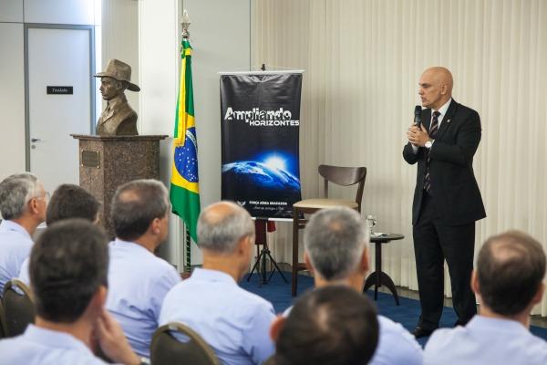 Evento faz parte do Projeto Ampliando Horizontes, que visa a ampliar o diálogo entre a FAB e a sociedade