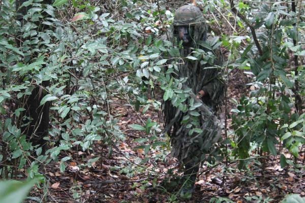Instrução de camuflagem