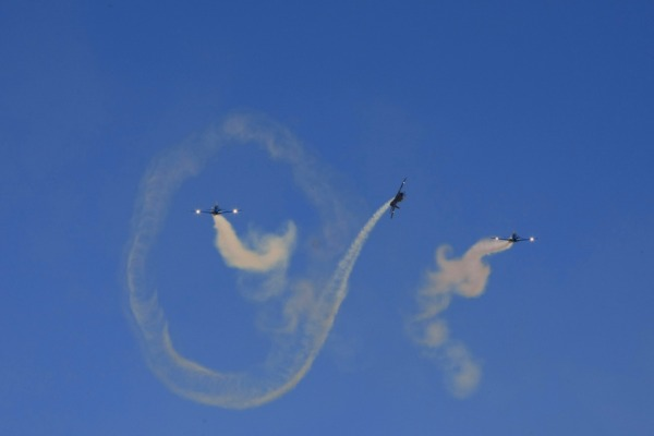 No feriado (12/10) a demonstração aérea ocorre em Canoas (RS)