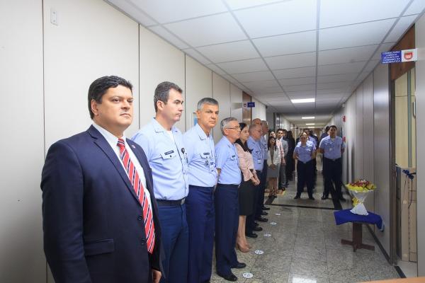 Oficiais-Generais do Comando da Aeronáutica acompanharam a cerimônia
